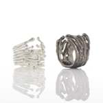 The Precious Collection: Vicky Forrester is a designer jewellery maker of contemporary bespoke jewellery.